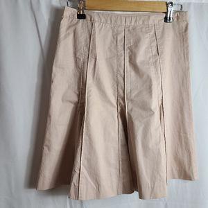 Club Monaco 100% cotton pin tuck skirt